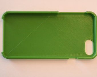3d printed iphone 7/8 case Green