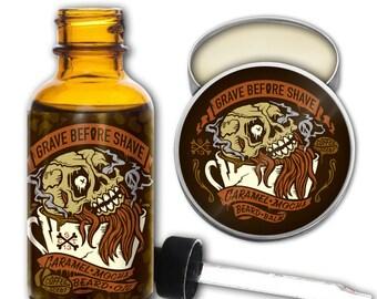 GRAVE BEFORE SHAVE Caramel Mocha Beard Pack  (Caramel Mocha Coffee Scented)