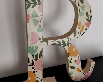 Printed Wooden Letters - MDF 18mm Thick - 20cm Tall