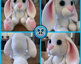 Easter bunny rabbit pattern, bunny rabbit pattern, amigurumi bunny rabbit pattern, crochet bunny rabbit pattern,