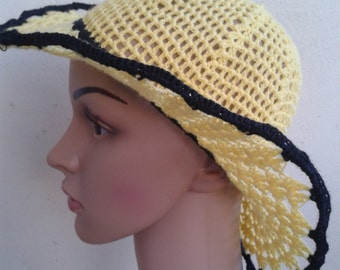 Hat in yellow