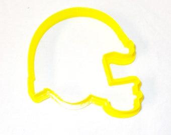 Football Helmet Custom Cookie Cutter Fondant Play dough 3.5 in NeW