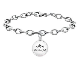 Mountain Girl Silver Bracelet