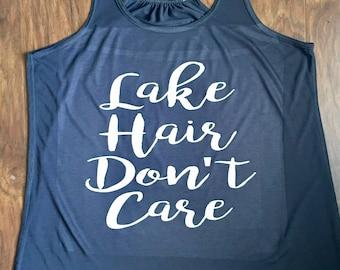 Lake Hair Don't Care Tank