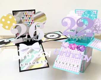A2 size pop up birthday card