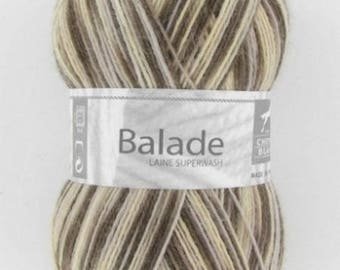 Sock - yarn knitting ride # 404 white horse