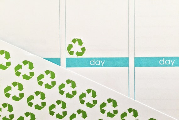 39 Recycle Symbol Stickers Free Customization Perfect For