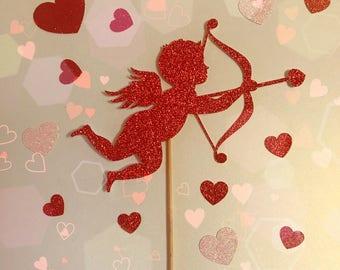 Cupid Cake Topper| Valentine's Day Cake Topper| Love Cake Topper