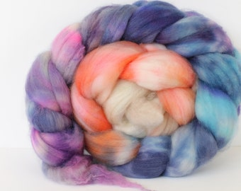 Coral Gables 4 oz Merino softest 19.5 micron Roving Top for spinning