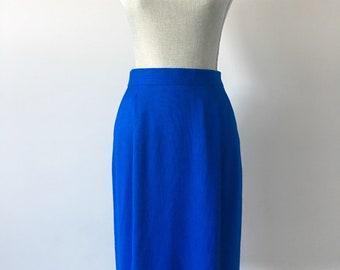 Vintage Blue Cimone Skirt