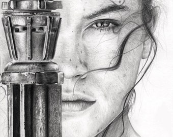 star wars rey daisy ridley the force awakens