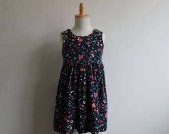 CUSTOM MADE - Adelyn Sleeveless Girls Dress - Knit Dress - Girl Dress - Girls Clothing - Sleeveless Dress
