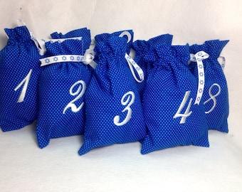 Set of 8 Hanukkah Gift Bags