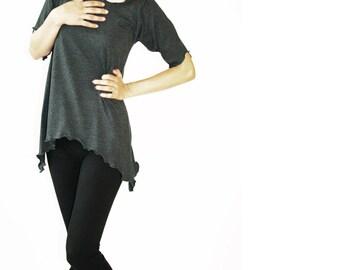 SPLIT HEM LEGGINGS women| clothing| leggings| pants| bottoms| handmade| treehouse28| custom| black leggings| black yoga pants| black pants