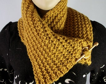 KNITTING PATTERN COWL Boston Cowl Shawl Scarf Pattern Instant Download Tutorial with Pictures Woman Cowl Scarf Knitting pattern