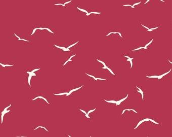 Summer '62 - Sea Flight Plum by Jay-Cyn Designs from Birch Organic Fabric