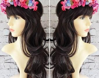 Summer Brights Flower Crown