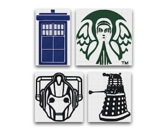 Doctor Who Embroidery Pattern Collection
