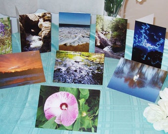 Natural Beauty - Blank Greeting Cards - Set of 10 with Envelopes