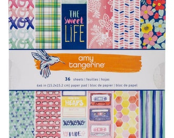 Paper Pad 6 x 6 Amy Tangerine Better Together