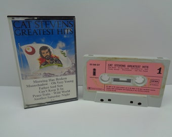 Cat Stevens Greatest Hits Cassette Pink Label
