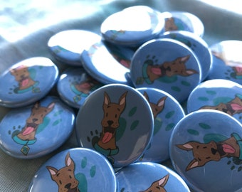 Scooby Doo Button