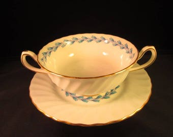 "Minton cream soup ""Chevot"" with underplate"