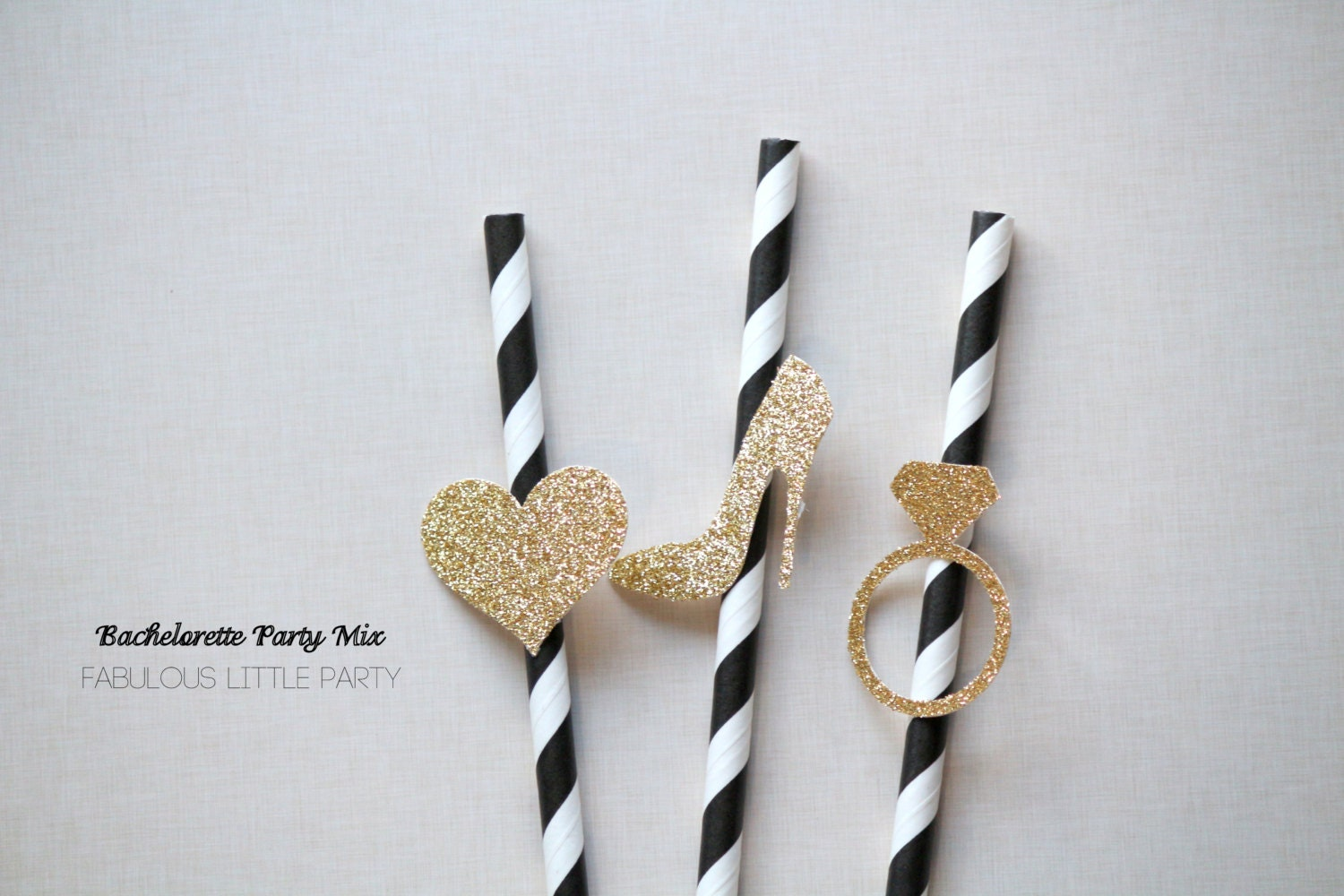 Engagement Party Decorations Paper Straw Mix