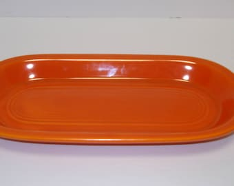Fiestaware Red Utility Tray