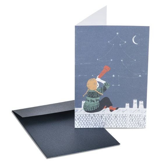 CHRISTMAS CONSTELLATION. Christmas card. Constellation. Astronomy gifts. For him. For her. For young girls.