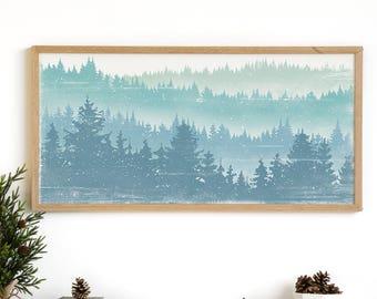 Winter Decor - Winter Wall Art - Rustic Decor Ideas - Modern Farmhouse - Rustic Holiday Print - Winter Print - Winter Scene Print - Chistmas