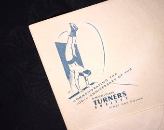 American Turners Society US Post Office First Day Envelope