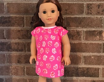 """18"""" Doll Hospital Gown (fits American Girl dolls)"""