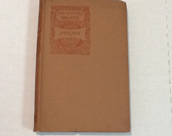 The Sisters Bronte Poems 1893