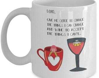 Lord Give Me Coffee To Change The Things I Can Change Coffee Mug Cup