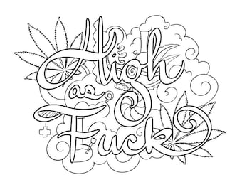 Chronic Coloring Pages