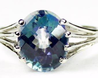 Neptune Garden Topaz, Sterling Silver Ring, SR280