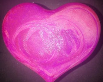 Handcrafted Heart Soaps