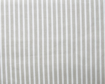 Fabric white beige stripes Cotton Fabric House textilies Fabric Scandinavian Design Scandinavian Textile