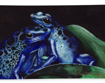 Dart Frog Beach Towel
