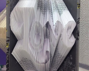Love Book Art Pattern