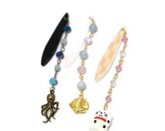 Obi kazari, kimono jewelry, obi jewelry, casual kimono, town kimono, Japanese accessory, cat jewelry, kawaii jewelry, lucky cat, maneki neko