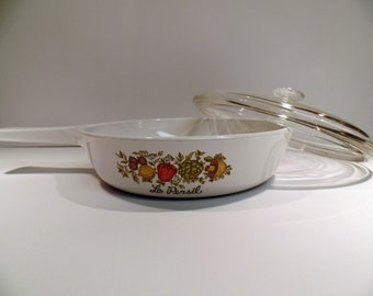 Corning Ware Spice O' Life Skillet with Lid - Vintage Corning Ware - Corningware - Spice O' Life - Skillet - Fry Pan - Corning Ware