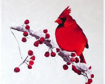Cardinal Greeting Cards from Original Oil Paintings