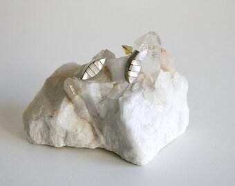 Zuni Mother of Pearl Earrings