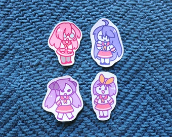 Lucky Star Sticker Set, Choose from 4 Designs or Pick Whole Set // 200GSM Acid Free