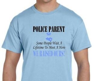 Police Parent T-Shirt