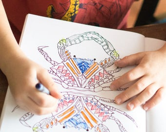 Coloring Book - Kids Animal Coloring Book