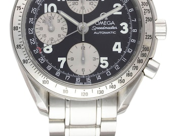 Gents Omega Speedmaster triple calendar chrono watch