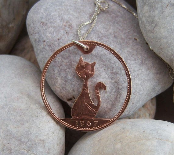Gifts for Eco Warriors - Penny Cat Pendant